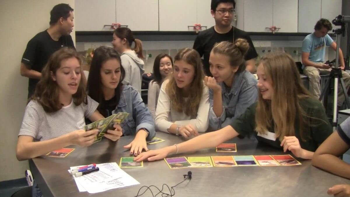 Interactive workshop with French International School